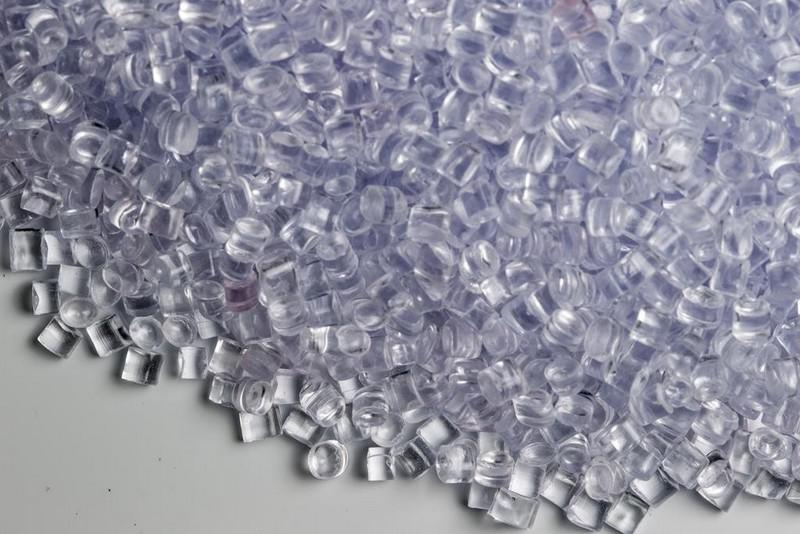 Poliestireno cristal resina