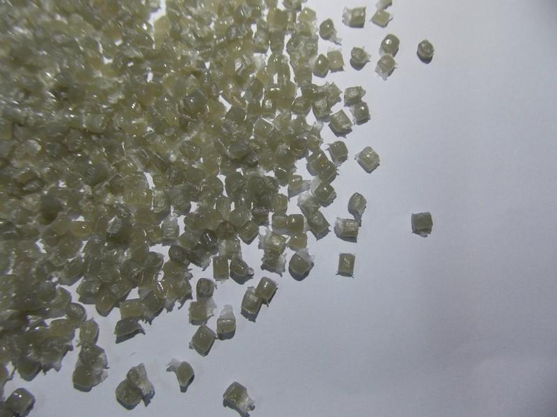Polietileno natural reciclado