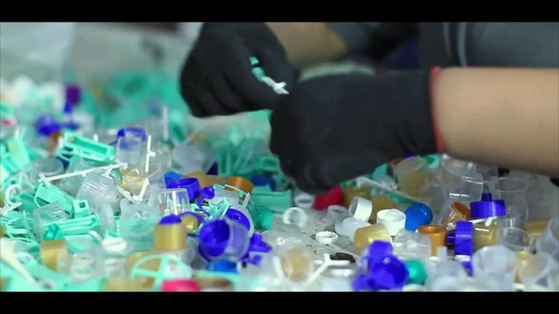Reciclagem de polipropileno